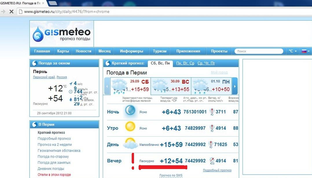 Погода в словении июнь